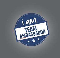 I Am Team Ambassador Stamp