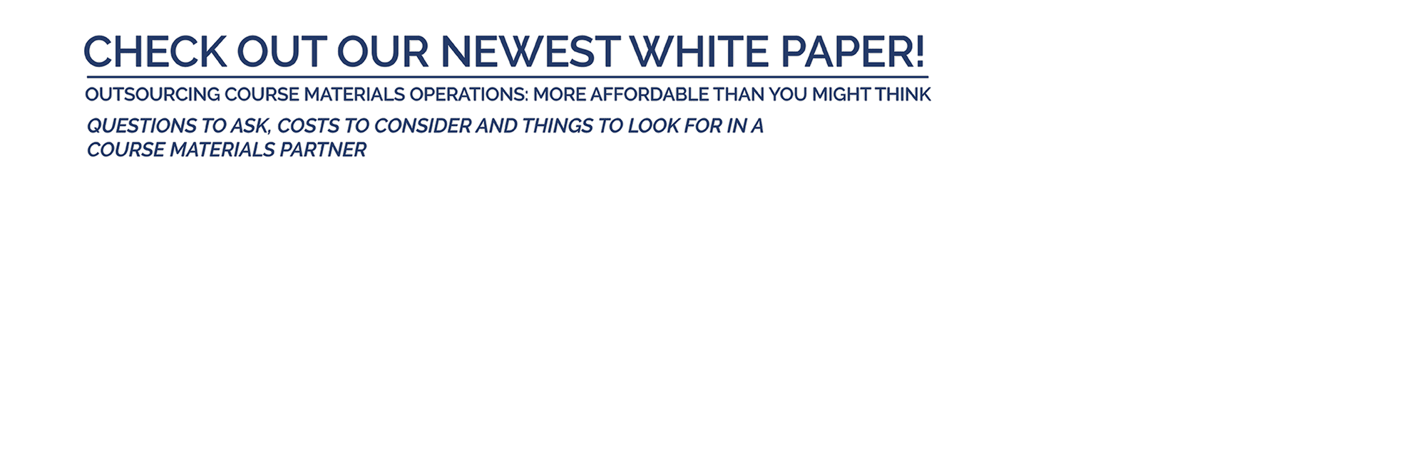 Check out our white paper